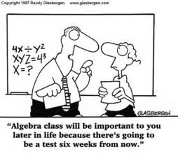 Algebra is good for life