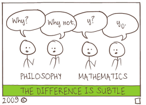 math and philosophy cartoon