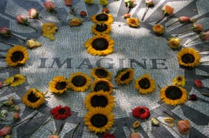 imagine JOhn Lennon Memorial 1